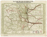 Map of early trails, forts and battlefields of Colorado, prepared for Municipal Facts Magazine,...